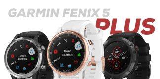 Garmin Fenix 5 Plus serien