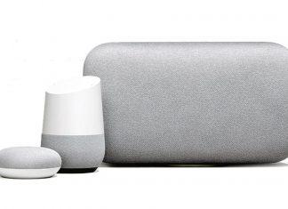 google-home-trio