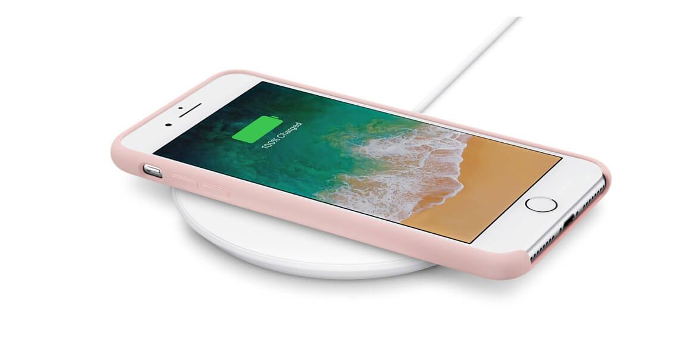 Apple iPhone 8 trådlös laddning