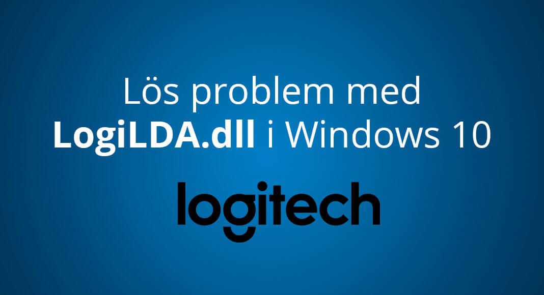 Logitech LogiLDA.dll Windows 10